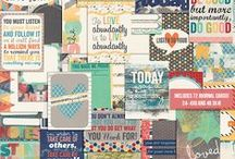 DiY: Project LIFE & Journaling / Printables, ideas and inspiration
