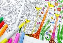 For the artsy side of me... / Artsy stuff for inspiration, coloring for adults, ect.