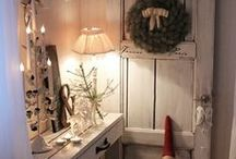 Christmasideas loving white, silver, rustic