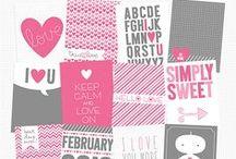 DiY: Valentine Printables / Printables for valentine´s day