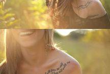 Tattoo ideas / Ink on my skin..