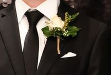 Boutonnieres / The perfect floral accessory for your ball date to match your corsage!