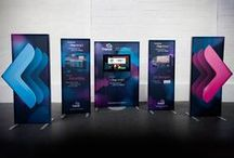 Portable Displays / Our portable displays give you real impact and convenience.