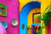 HOUSE OF COLOUR / Bright, colorful, eye popping, unapologetic homes!