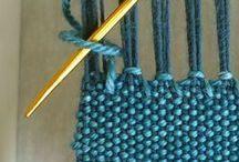 Knitting techniques / Knitting techniques and tips :: técnicas y trucos de punto (tejer con 2 agujas)