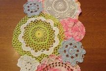 DiY: Reclaim doilies / Recycle old crochet lace ❤️