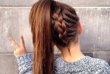 Hair / Cute Hair Ideas including Tutorials, Colors, Braids, Styles, Cuts, & Everything Imaginable!  / by Randi Haseman