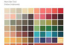 Kleding | kleuranalyse / Welke type ben jij? Gebaseerd op de tint van mijn huid ben ik een herfsttype, wat betekend dat herfstkleuren mij het mooiste staan.