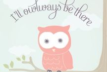 ❤ O W L S ❤ / Owls, inspiration, printables, cuteness!