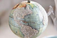 Maps and Globs / Mapas inspiradores, uma das minhas paixões