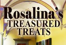 Rosalina's Treasured Treats Cookbook / A collection of all the scrumptious treats Rosalina cooks in Treasured Secrets and Treasured Lies by Kendall Talbot. http://www.kendalltalbot.com.au/rosalinas-treasured-treats.html
