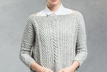 Knitting patterns: pullovers / My favourite pullover knitting patterns :: Mis patrones de punto favoritos: jerseys.