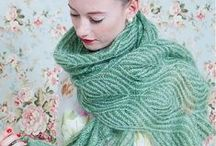 Knitting patterns: scarves & cowls / My favourite scarf and cowl knitting patterns :: Mis patrones de punto favoritos: bufandas y cuellos.