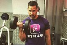 FitFlash support / People across the world showing their support for the FitFlash app!