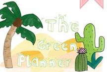 THE GREEN PLANNER BY PEAU NEUVE / Premier agenda écolo = THE GREEN PLANNER