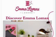 Emma Lomax / Emma Lomax -Beautiful hand embroidered travel, makeup and wash bags designed in London.