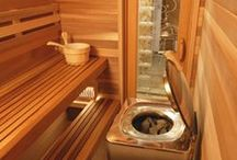 HOT SPOTS. / sauna rooms
