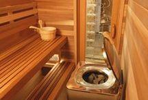HOT SPOTS. / sauna rooms