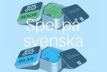 Quiz spel fra Box Quiz på svenska