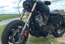Harley Davidson - Scrambler - Bobber - Dirt Bike