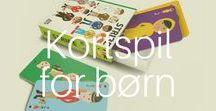 Kortspil for børn / Det gode ved kortspil er, at selv de helt små børn kan være med og ha' det sjovt. Find inspiration til gode kortspil her.