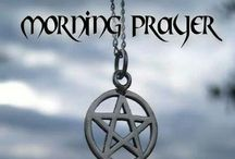 Spells and prayers / A mixture of wiccan, witchs, pagon spells and prayers / by Carol