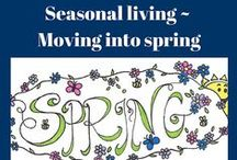 Spring Food and Lifestyle / After your rested for the winter, spring brings about a renewed energy and new life. This is a great time to start a new project or birth a great new idea or habit! A great time to cleanse your body and begin shifting your food from warm and comforting to cool and light.