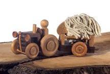 Wooden Vehicles / Unique Hungarian handmade wooden toy masterpieces directly from the workshop. Not just for kids!