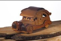 Wooden Big Cars / Unique Hungarian handmade wooden toy masterpieces directly from the workshop. Not just for kids!