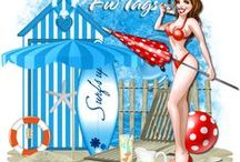 CT Tags made for me / Tags made for me by my own CT team using my own PTU scrap kits