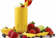 Food - Healthy living drinks / Yummy drinks  / by Carol