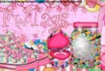 Tags and Timelines I have made using my own scrap kits / Tags and Timelines I have made using my own scrap kits.