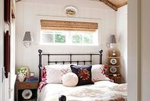 summer house bedroom