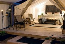 Tented Camps (Glamping) / Glamarous Camping