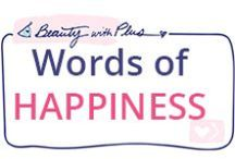 Words of HAPPINESS