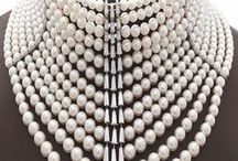 ~  ' * The Rising Star of Natural Pearls ✴ Jewellery * '  ~ / Pearls have long been objects of desire. Worn in jewellery since the Roman Empire to represent wealth, power and status.