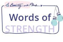 Words of STRENGTH