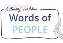 Words of PEOPLE