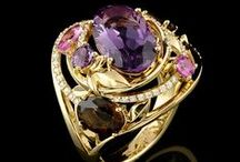 ~  ' * 'A' is for Amethyst ❇ February's Birthstone * '  ~ / The purple amethyst has been highly esteemed throughout the ages for its stunning beauty and legendary powers to stimulate, and soothe, the mind and emotions. The purple amethyst is also a stone of wisdom and it is a stone of pure, true, emotional love.