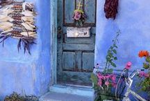 Doors and Entrances / Doors, old doors, door photos, door photography, buildings, colorful doors, door design