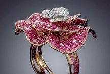 ~  ' * Sparkling Diamonds & Coloured Stone Rings * '  ~ / Welcome to my board ~ enjoy and happy pinning !