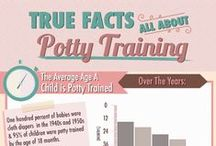Potty Training / Tips, tricks and how to's!