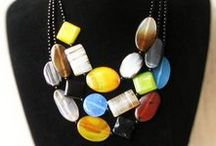 My love - my work / Exclusive handmade necklaces, earrings and bracelets. Using natural products such as semiprecious stones, coral, glass, silver. Most pieces are unique some can be re-ordered. Also some necklaces and bracelets can be modified to your wishes and shortened or lengthened.