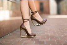 Shoes ~ high heels ~pumps ~ boots / All types and colors of shoes, well-known brands and designer works.