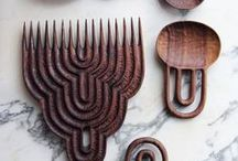 A Craft: Wood / A million woods and a million grains make for beautiful objects and functional tools. Wood is warm and inviting.