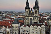 Praga passei por aqui / Praga é uma cidade linda, em cada canto uma descoberta...