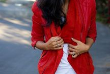 WARDROBE - RED / My T4 Style: Bold, Clean, Regal, Simple, Precise, Structured, Clear, Reflective, High-contrast, Keen.