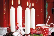 Julen. / Her kan i se smukke ideer til julen.