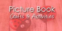 Picture Book Crafts & Activities / Kids craft ideas and activities that pair well with picture books. Great for parents, teachers, and librarians alike!
