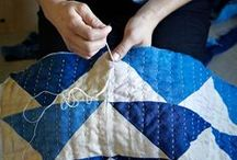 A Craft: Quilts / Although quilts have many functional uses, the work involved in creating them and their decorative possibilities have led to them having cultural importance in many places and times, and they are increasingly also treated as a visual art form.